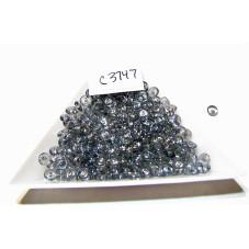 C3747 Czech Rondelle Bead LUMI BLUE 4mm