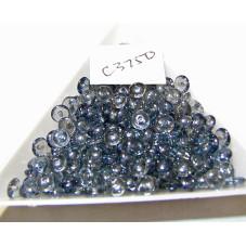 C3750 Czech Glass Rondelle Bead LUMI BLUE 5mm
