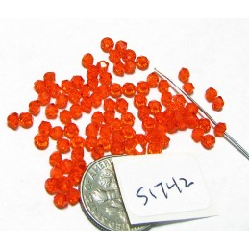 S1742 Swarovski Crystal Bicone Bead HYACINTH 3mm