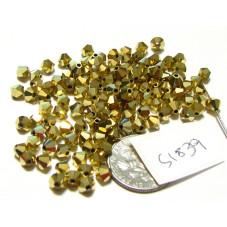 S1839 Swarovski Crystal Bicone Bead ARUM 4mm