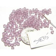 S1835 Swarovski Crystal Bicone Bead LIGHT AMETHYST  3mm