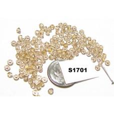 S1701 Swarovski Crystal Bicone Bead GOLDEN SHADDOW 3mm