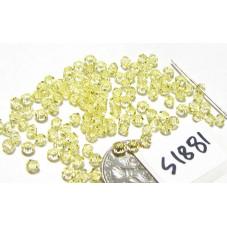 S1881 Swarovski Crystal Bicone Bead JONQUIL 3mm