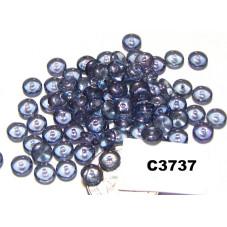 C3737 Czech Glass Rondelle Bead LUMI AMETHYST 5mm