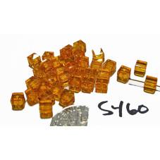 S460 Swarovski Cube 5601 SUN 4mm