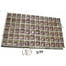 S174 Swarovski Cube 5601 LIGHT AMETHYST 8mm