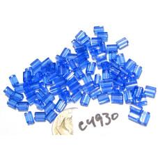 C4930 Czech Glass Baby Pillow Bead MEDIUM SAPPHIRE  3x5mm