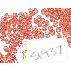 S1937 Swarovski Crystal Bicone Bead ROSE PEACH 3mm