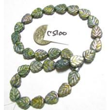 Chilling Blue Leaf Beads!