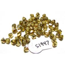 S1947 Swarovski Crystal Bicone Bead ARUM 2X   6mm