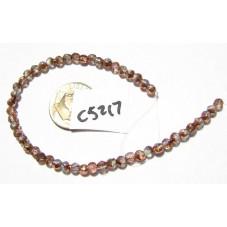 C5217 Czech English Cut Bead APOLLO GOLD 3mm