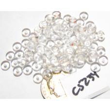 C5234 Czech Glass Rondelle Bead CRYSTAL  5mm