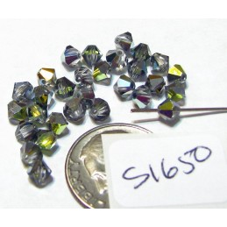 FPS1650  Swarovski Crystal Bicone Bead Factory Pack CRYSTAL SAHARA 4mm