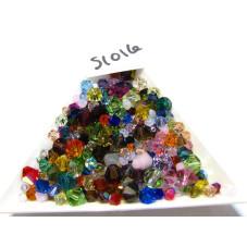 S1016 Genuine Swarovski Crystal Bicone RANDOM SIZE AND COLOR MIX