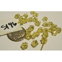 S196 Swarovski Flower Bead 5744 JONQUIL 6mm