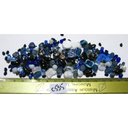 C535 Czech Bead Soup Mix BLUES