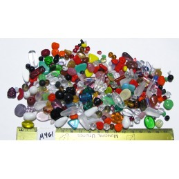C461b Czech Bead Soup Mix COLOR MIX SMALL TO MEDIUM BEADS