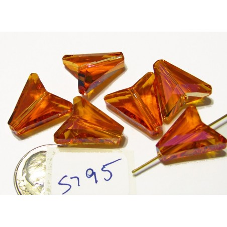 S795 Swarovski Arrow Bead Item 5748 ASTRAL PINK 16mm
