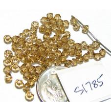 S1785 Swarovski Crystal Bicone Bead LIGHT COLORADO TOPAZ 3mm