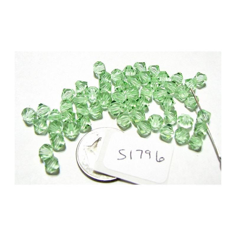 S1796 Swarovski Crystal Bicone Bead CHRYSOLITE 5mm