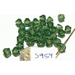 S954 Swarovski Crystal Bicone Bead ERINITE  6mm