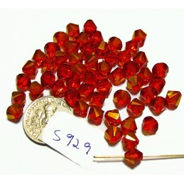 S929 Swarovski Bicone Bead LIGHT SIAM ASTRAL PINK Limited Production  6mm