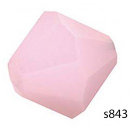 S843 Swarovski Crystal Bicone Bead ROSE ALABASTER  6mm