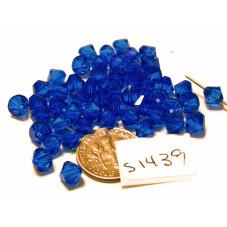 S1439 Swarovski Bicone Bead NEW MAJESTIC BLUE  6mm