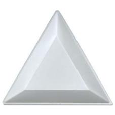 "Plastic Triangle Bead Gem Diamond Sorting Trays 3"""