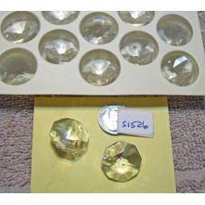 Swarovski Chandelier Crystal OCTAGON 28mm  (Item 8001)