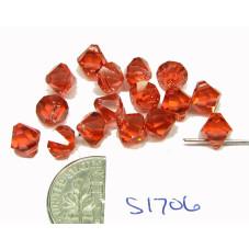 S1706 Swarovski Crystal Top Drill Bicone Pendant 6301 PADPARADASCHA 6mm