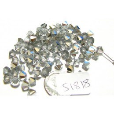 S1818 Swarovski Crystal Bicone Bead CRYSTAL CAL 5mm